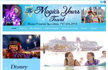 Disney Travel Agent Website Design, Hanover, PA